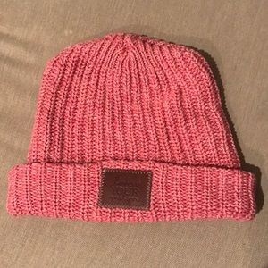 Love Your Melon Pink Cuffed Beanie
